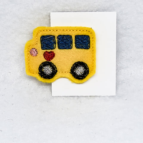 School Bus Feltie