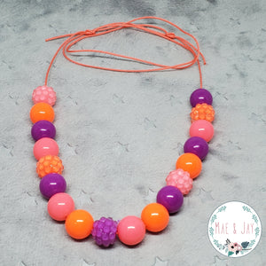 Mini Neon Summer Necklace