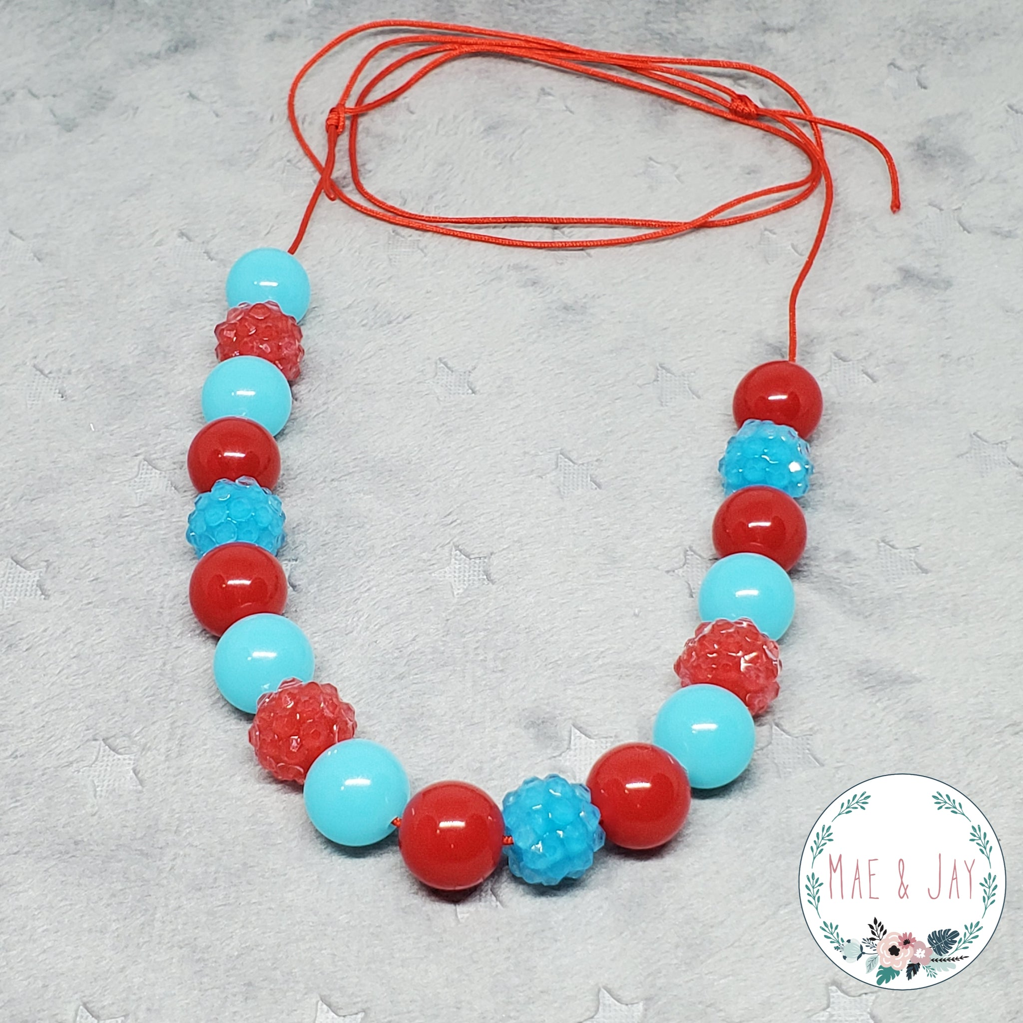 Mini Tropical Punch Necklace