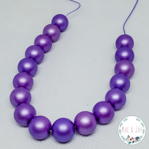 Purple Mini Necklace