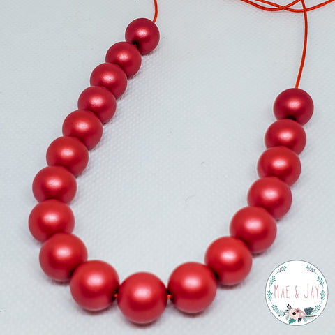 Red Mini Necklace