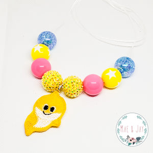 Baby Shark Chunky Necklace