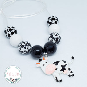 Cow Chunky Necklace