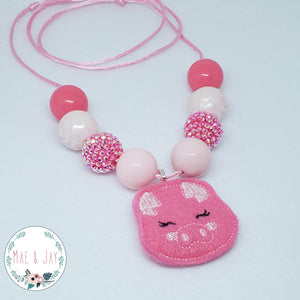 Pig Chunky Necklace