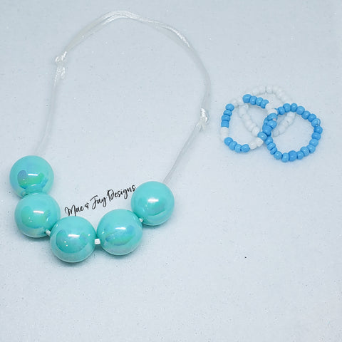 Dolly Necklace & Bracelets Set