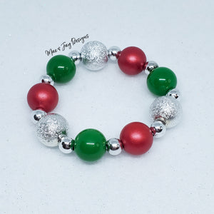 Merry Grinchmas Mini Bracelet