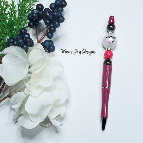 TikTok Dance Pro Beaded Pen