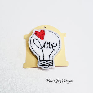 LoveBulb Hairclip
