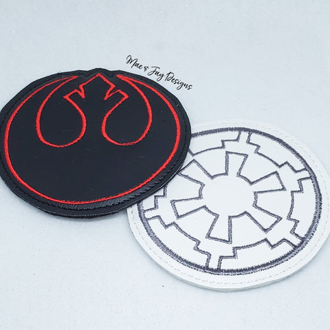 Rebel & Galactic Coasters