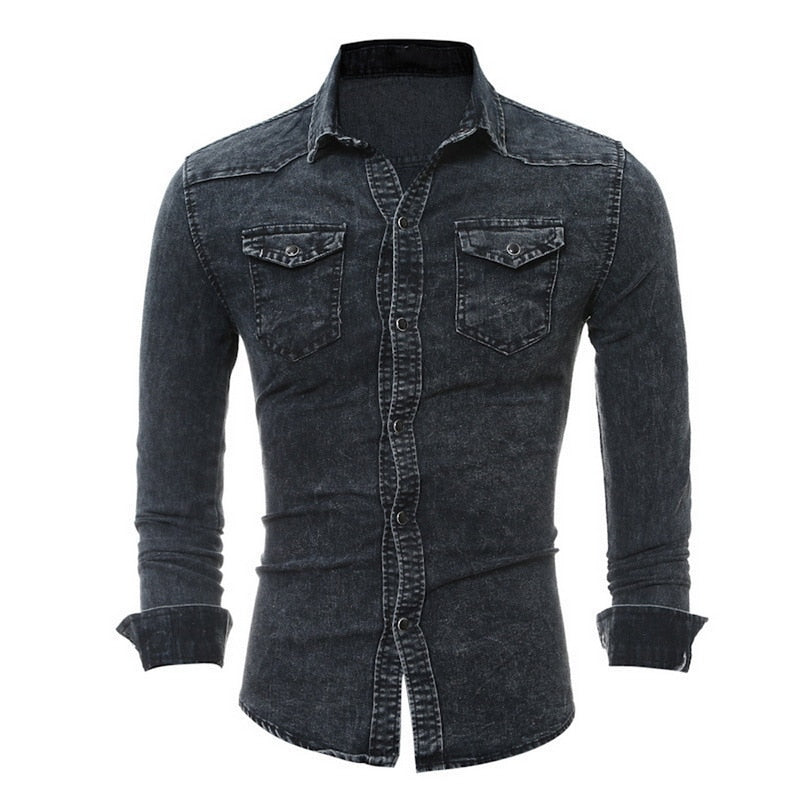 Jeans Western Shirt