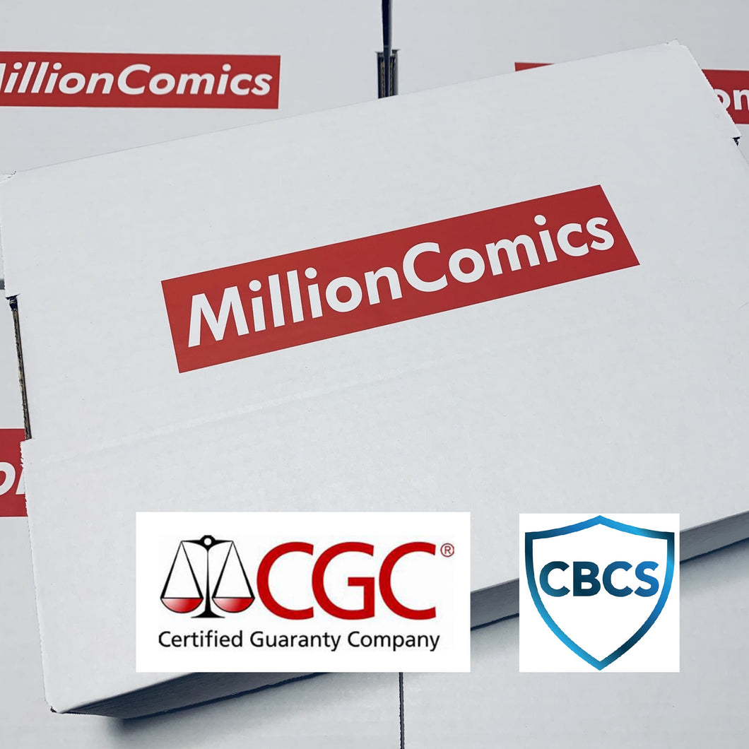 Million Comics Graded Mystery Box - Set 2