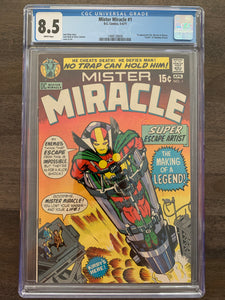 Mister Miracle #1 CGC 8.5 - 1st Mister Miracle