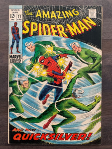 Amazing Spider-Man #71 - Quicksilver