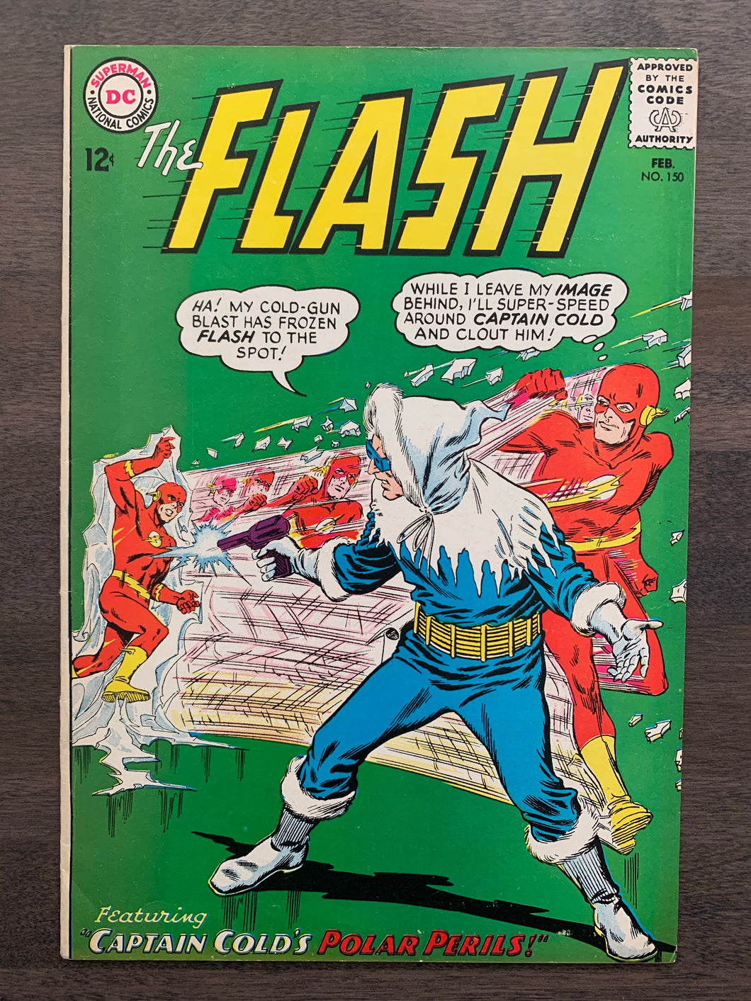 Flash #150 - Captain Cold