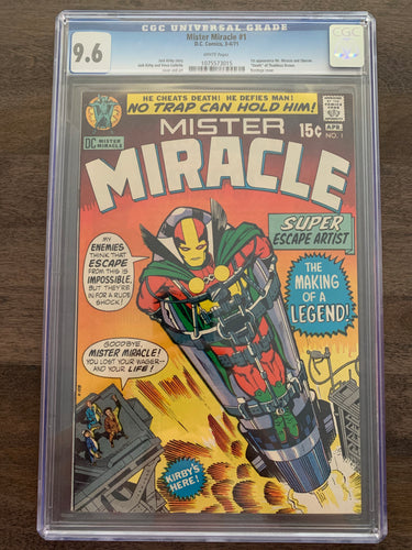 Mister Miracle #1 CGC 9.6 - 1st Mister Miracle