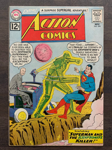 Action Comics #294 - Lex Luthor