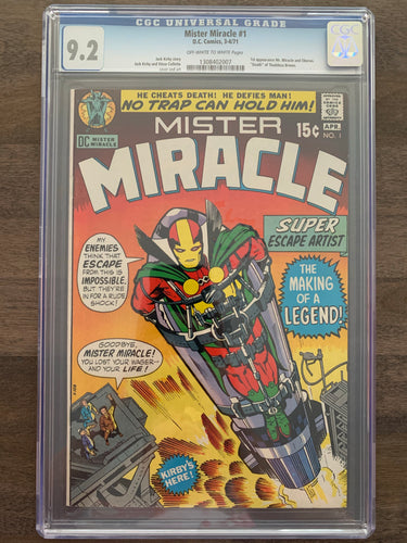 Mister Miracle #1 CGC 9.2 - 1st Mister Miracle
