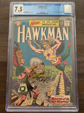 Load image into Gallery viewer, Hawkman #1 CGC 7.5 - 1st Hawkman in Title