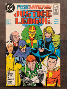 Justice League #1 - 1st Maxwell Lord (Black King)