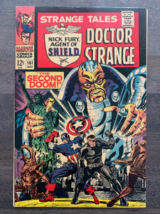 Strange Tales #161 - 1st Yellow Claw