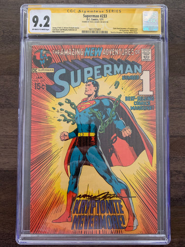 Superman #233 CGC 9.2 - Neal Adams