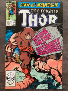 Thor #411 - 1st New Warriors