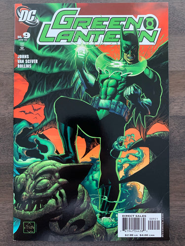 Green Lantern #9 - Variant Cover RARE - 1st Tattooed Man
