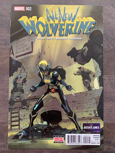 All-New Wolverine #2 - 1st Honey Badger