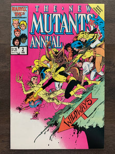 New Mutants Annual #2 - 1st Psylocke
