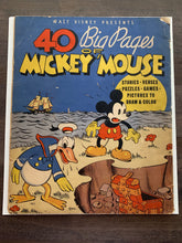 Load image into Gallery viewer, 40 Big Pages of Mickey Mouse #945 RARE