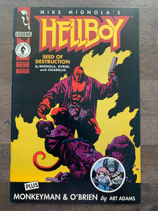 Hellboy: Seed of Destruction #1 - 1st Hellboy in Title