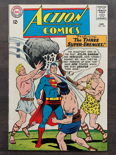 Action Comics #320 - Hercules, Samson & Atlas