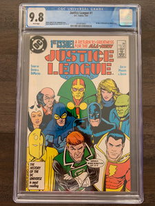 Justice League #1 CGC 9.8 - 1st Maxwell Lord