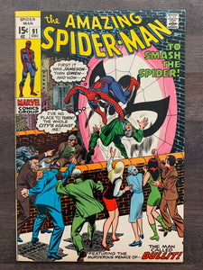 Amazing Spider-Man #91 - Captain George Stacy Funeral