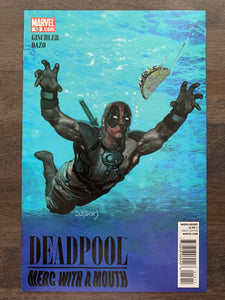 Deadpool: Merc with a Mouth #12 - Nirvana Cover