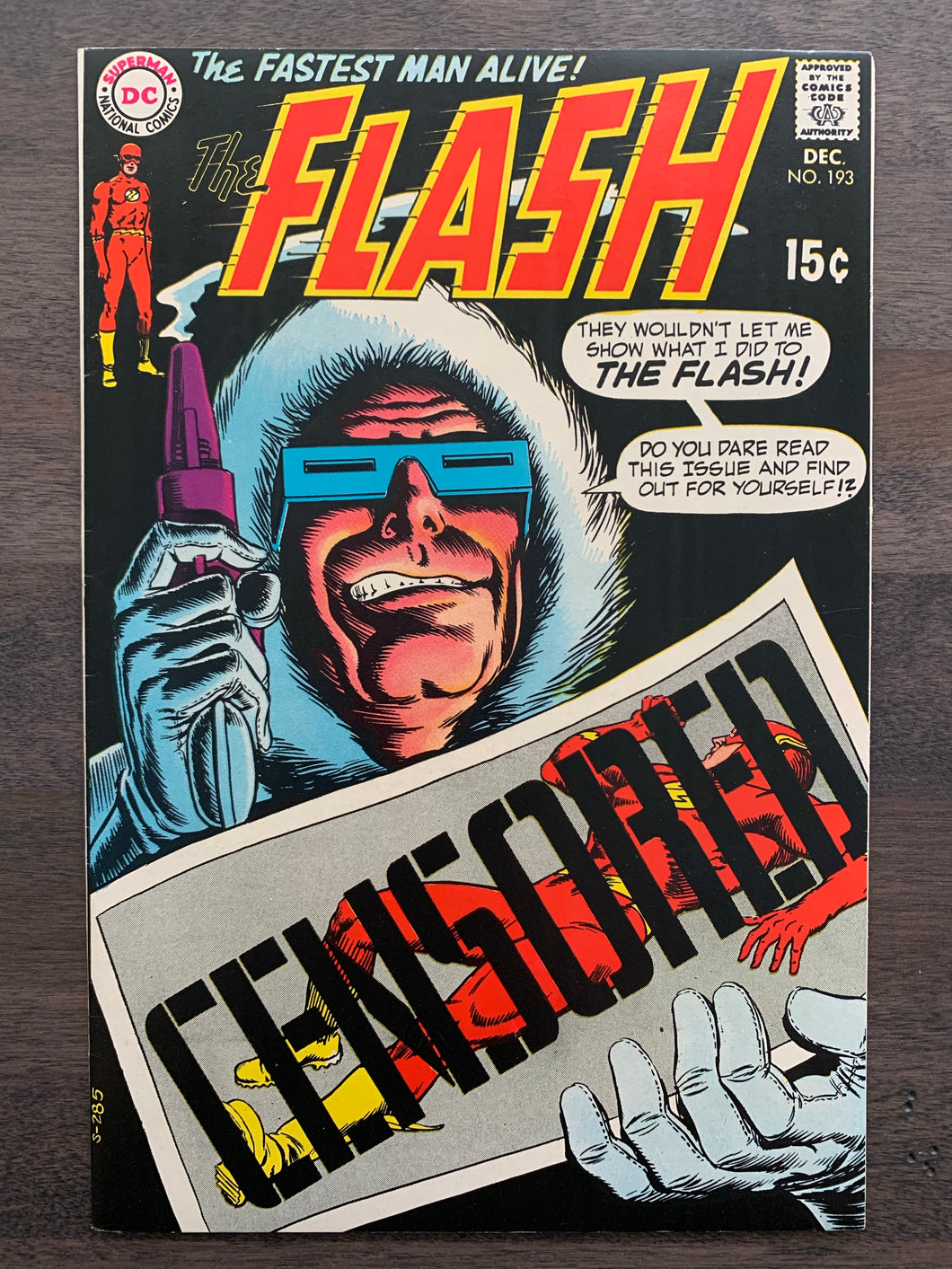 Flash #193 - Captain Cold