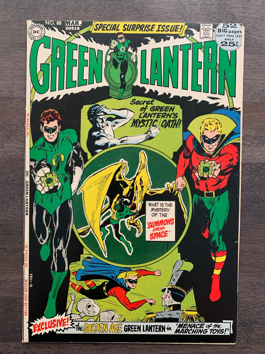 Green Lantern #88 - Unpublished Golden Age Story