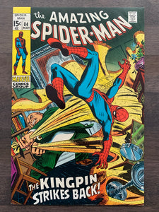 Amazing Spider-Man #84 - 2nd Schemer