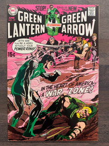 Green Lantern #77 - 2nd Green Lantern/Green Arrow - Neal Adams