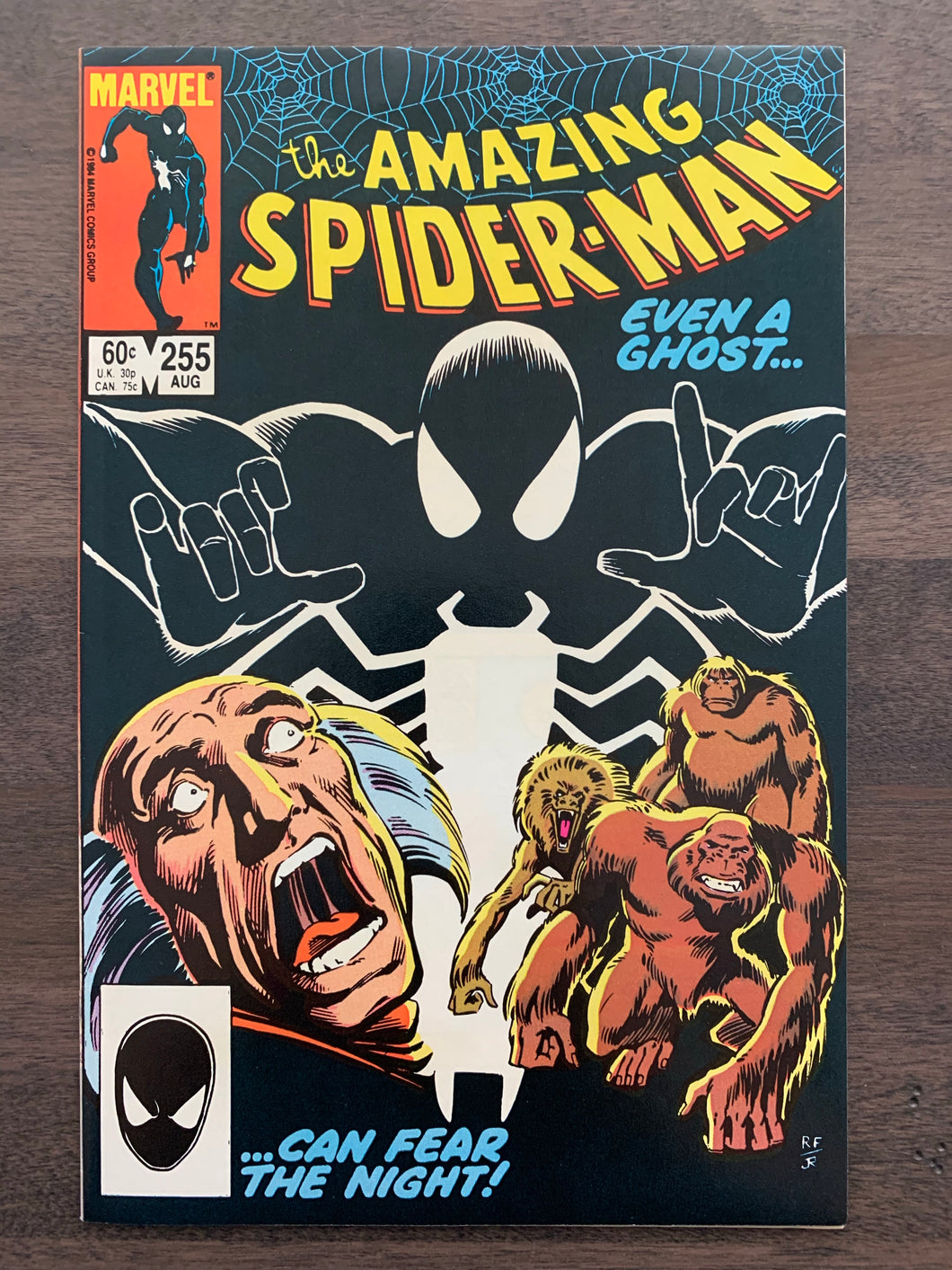 Amazing Spider-Man #255 - 1st Black Fox