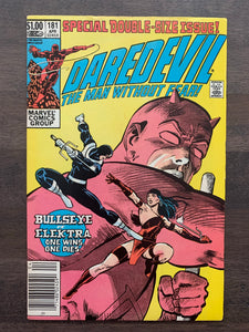 Daredevil #181 - Death of Elektra