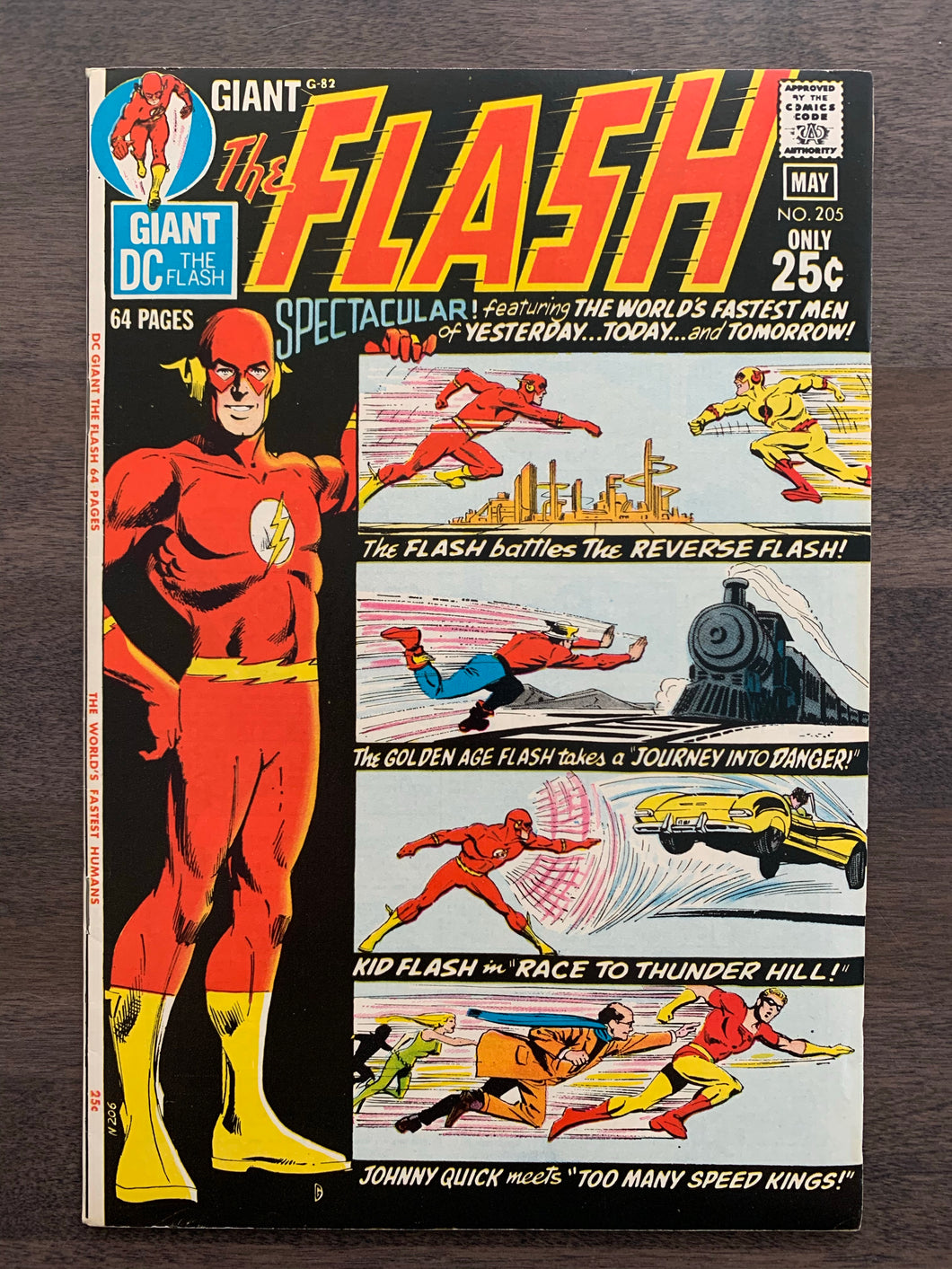 Flash #205 - Golden Age Flash Story NEW!