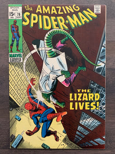 Amazing Spider-Man #76 - Lizard and Human Torch