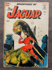 Adventures of the Jaguar #1 - 1st Jaguar