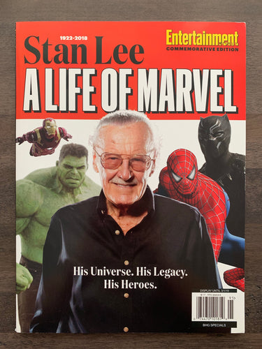 Entertainment Weekly Stan Lee a Life of Marvel