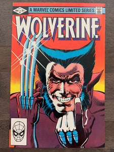 Wolverine Limited Series #1 - 1st Solo Wolverine