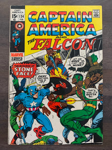 Captain America #134 - 1st Captain America and Falcon Title