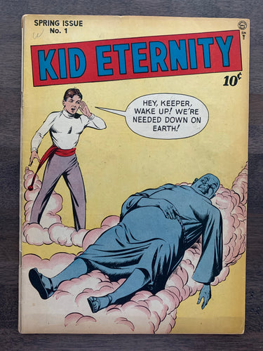 Kid Eternity #1 - 1st Kid Eternity in Title