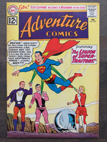 Adventure Comics #293 - 1st Comet, 2nd Zod, 1st Bizarro Lex Luthor