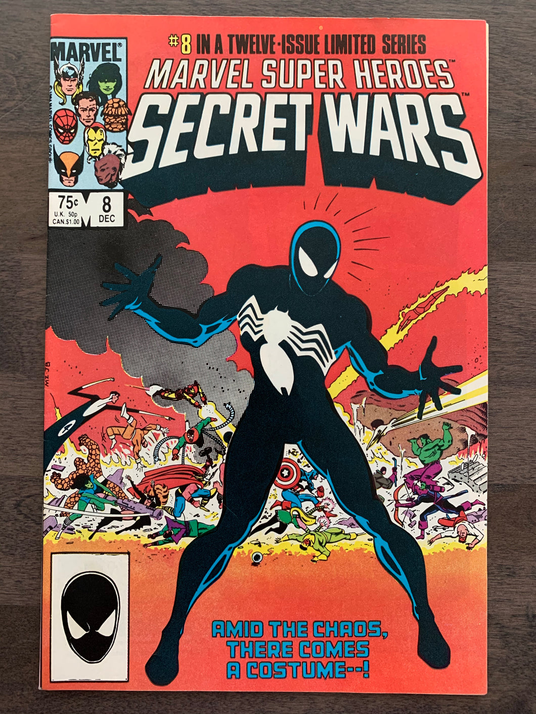 Marvel Super Heroes Secret Wars #8 - Symbiote Origin